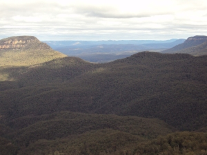 Mountains from the observation point