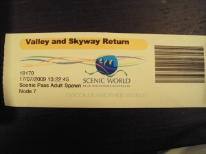 Scenic Work ticket